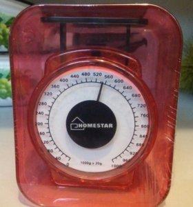 Весы кухонные механич. 1кг