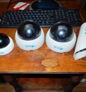 Видеокамеры аналоговые 400твл, 580твл, 650твл