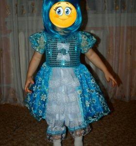 """Новогодний костюм """"Мальвина"""""""