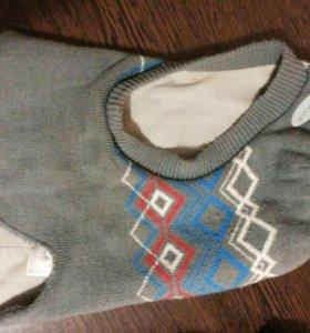 Перчатки и шапка на мальчика