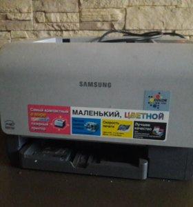 Цветной принтер samsung