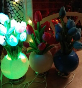 Светильник led тюльпаны