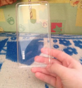 Чехол на мейзу силиконовый прозрачный