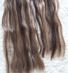 Локоны из искусств. волос