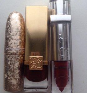 Помады,оригинал,mac,Dior ,Estée Lauder