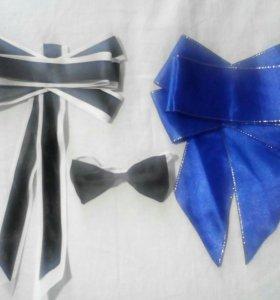 Резинка,заколка, галстуки, бабочки
