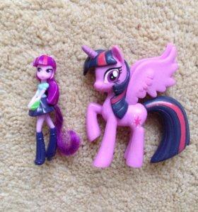 My little pony equestria girl искорка