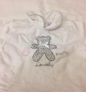 Комплект одежды 68 подарок носочки