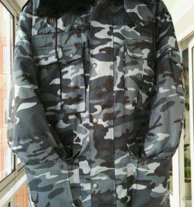 Камуфлированный костюм зимний