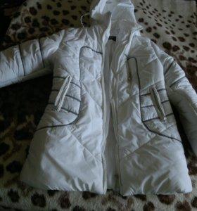 пуховик куртка синтепон с капюшоном