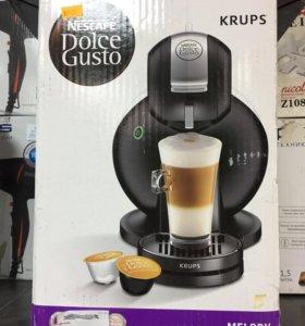 Кофеварка Nescafe dolce gusto новая