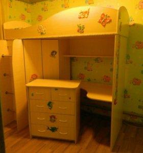Детская Комната +комод+матрас