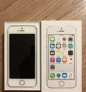 iPhone 5s белый 64гб