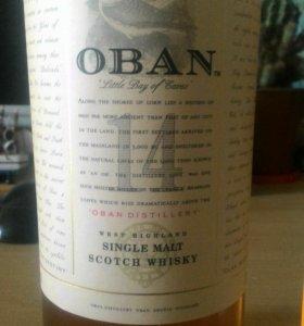 Шотландский виски OBAN ОРИГИНАЛ.