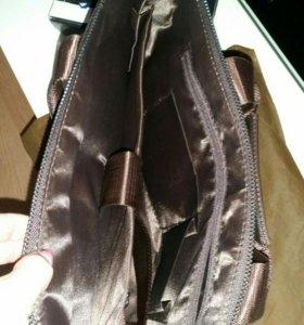 Портфель, сумка мужская новая.