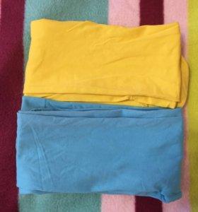 Цветные капроновые колготки