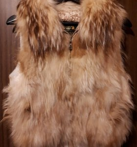 Меховая жилетка (лисичка) 🦊