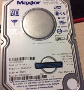 Жёсткий диск на 160 Гб