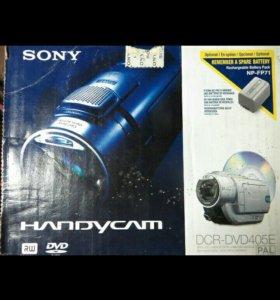 Видео камера sony dcv dvd 405e