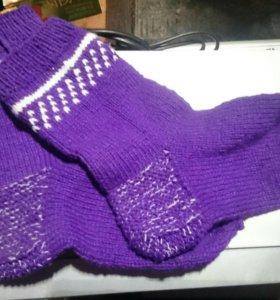 Носки шерстянные теплые