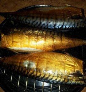 Копченое сало(грудинка),сельдь и скумбрия