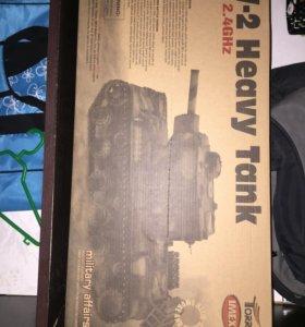 RC танк