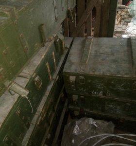Ящики из-под снарядов
