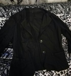 Пиджак женский чёрный