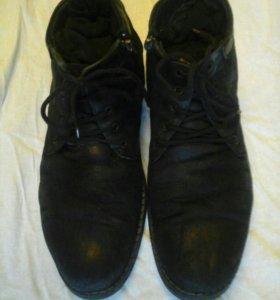 Ботинки зимн.42р.натур. Доставка бесплатная