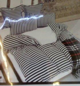 Постельное белье, новый 2.0 комплект