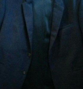 Пиджак мужской темно- синий