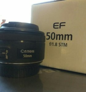 Объектив Canon 50 f/1.8 STM