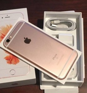 Новый iPhone 6s 128gb rose gold ростест