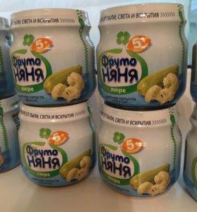 Детское питание Фруто-няня 12 шт