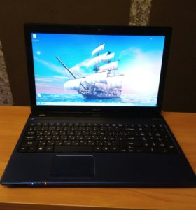 Ноутбук acer(a10-4600m/hd 7670m 2gb/4gb/500gb)