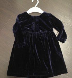 Платье 6-9м