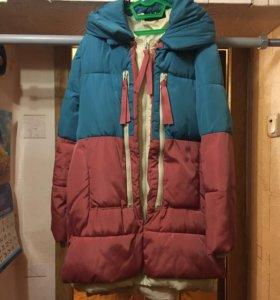 Куртка парка зимняя женская