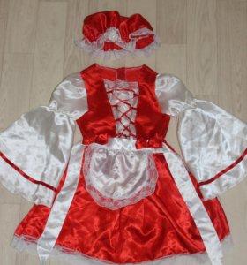 Костюм красной шапочки для девочки 6 лет