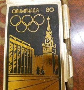 """Блокнот """"Олимпиада 80""""."""