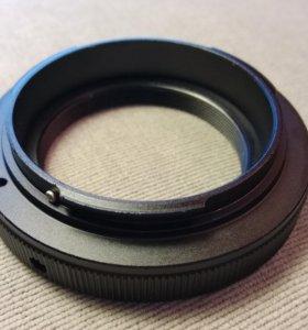 новый переходник Т2 - EOS Canon