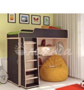 Многофункциональная кровать чердак ,