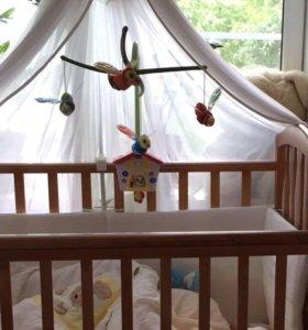 Мобиль Chicco «пчелки» для детской кроватки
