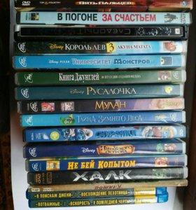 15 dvd дисков разных тематик