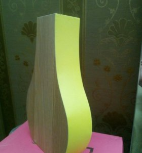 Ваза деревянная 30 см