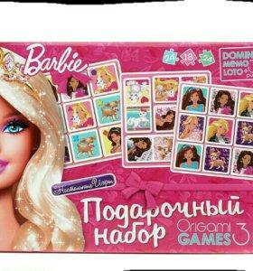 Подарочный набор 3 в 1. Barbie.