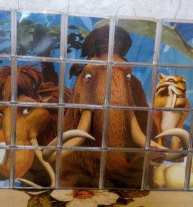 Мини-фигурки из мультфильма Ледниковый период