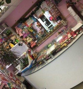 Действующий цветочный магазин с оборудованием