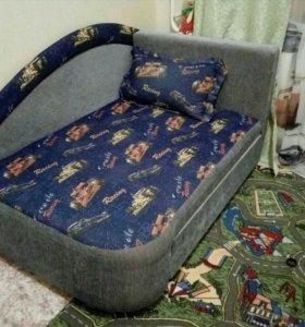 Детский диван-кровать раздвижной