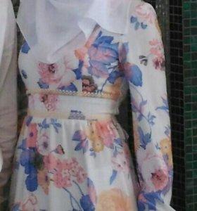 Платье свадебное никах