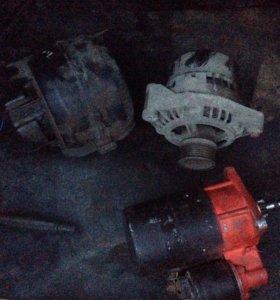 Стартер, генератор, мотор печки